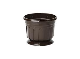 Round flower pot Ø17,