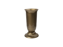 Vase with stand Ø16,