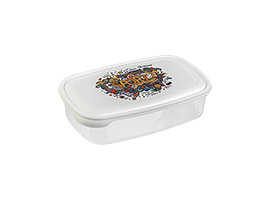 Stilo Deco 1L, container, frigo, dish