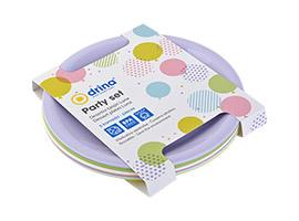 Luna Party set, plate